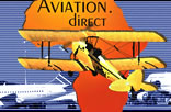 Aviation. direct,  Flying in Africa